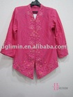 Fancy embroidery baju kebaya