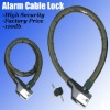 New Bike Alarm Cable Lock