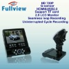 "CDVR-W-210----720P hd car dvr recorder with Seamless loop Recording and G-sensor and 2.8"" LCD Screen"