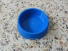 Plastic pet feeding bowl