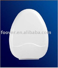 Durable plastic toilet seat cover