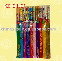 2011 wedding chopstick with silk cover