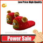 OEM lovely cute plush slippers