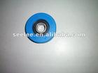 Step Roller for Thyssen Escalator / diameter 75mm, thickness 25mm, bearing 6204