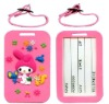 2013 Soft 2D 3D pvc luggage tag rubber luggage tag Cartoon animal