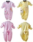 100%cotton baby rompers