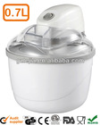 New!! 0.4L Electric mini Ice Cream maker-GS/ETL approval-0.7L/1.0L/1.5L,7/12W