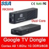 Google TV Dongle 1GB DDR3 Dual Core RK3066 Cortex A9 1.6GHz