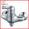 chromeplated bathtub shower combination