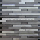 newest art stainless steel silver mosaic tiles