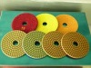 engineered stone polishing pads