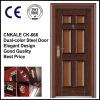 CK-666 Security Entrance Steel Door with 2colors