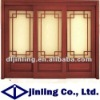 Finger joint solid wood door interior door wood door design