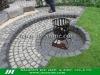 Natural cube paver stone