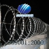 RAZOR barbed wire mesh in spiral with all kinds