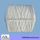 Eco-friendly white 1mm elastic rubber string