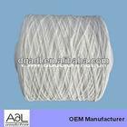 Eco-friendly white 1mm elastic rubber string
