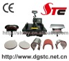 STC business type combo heat press machinery