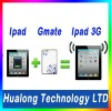 Manufacturer!!2012 New private mold dual sim GMATE for ipad2/bluetooth transformer