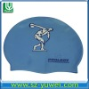 Sport-Animal Shape Stretch Silicone Swimming Hat