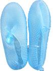 Clear aqua beach shoes for women
