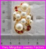 top selling alloy siam rhinestone pearl rings jewelry