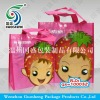 Promotional laminating non-woven carrier bag