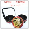 small lacquer basket,basket made by mao bamboo and troditional skill