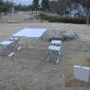 Aluminum table chair set , aluminum furniture , camping table