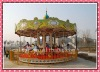 high quality and popular lovely carousel horse theme park machine