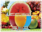 2012 best seller of 3d table mat of fresh fruit and juice