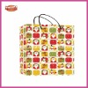 Printing beautiful mixed pattern christmas paper bag