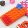 hot selling blocks Silicone Cover for i Phone 5 with factory price
