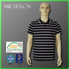 100 cotton polo shirt collar striped latest shirt designs for men