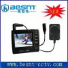2012 hot selling H.264 , 4ch CCTV mini car DVR with small screen BS-DV128