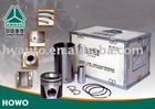 SINOTRUK HOWO truck engine parts: piston kit assy, liner component