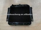 Automotive radiator for tractor