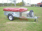 2011 Hawk's New galvanized camper trailer (HT-CP1)