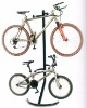 Gravity bike rack