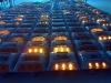 LED solar cat eye road studs reflectors
