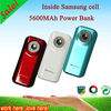 2012 fashionable 5600mah OEM power bank for smartphone