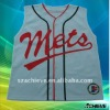 Digitally baseball jersey with subliamtion