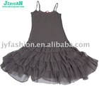 single color dancing dress princess style skirt homecoming wear