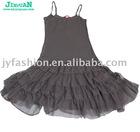 single color dancing dress princess style skirt homecoming wear