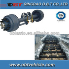 self-steering axle 11t for trailer