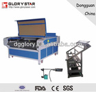 Textiles, Clothing and Shoes Industry Automatic Feeding laser cutting machine with conveyor