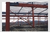 steel structure of workshop project