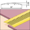 carpet trim profile;carpet edging-Contract Cover strip