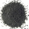 Recycled rubber granule for racetrack