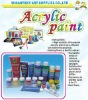 Acrylic paint for children to draw